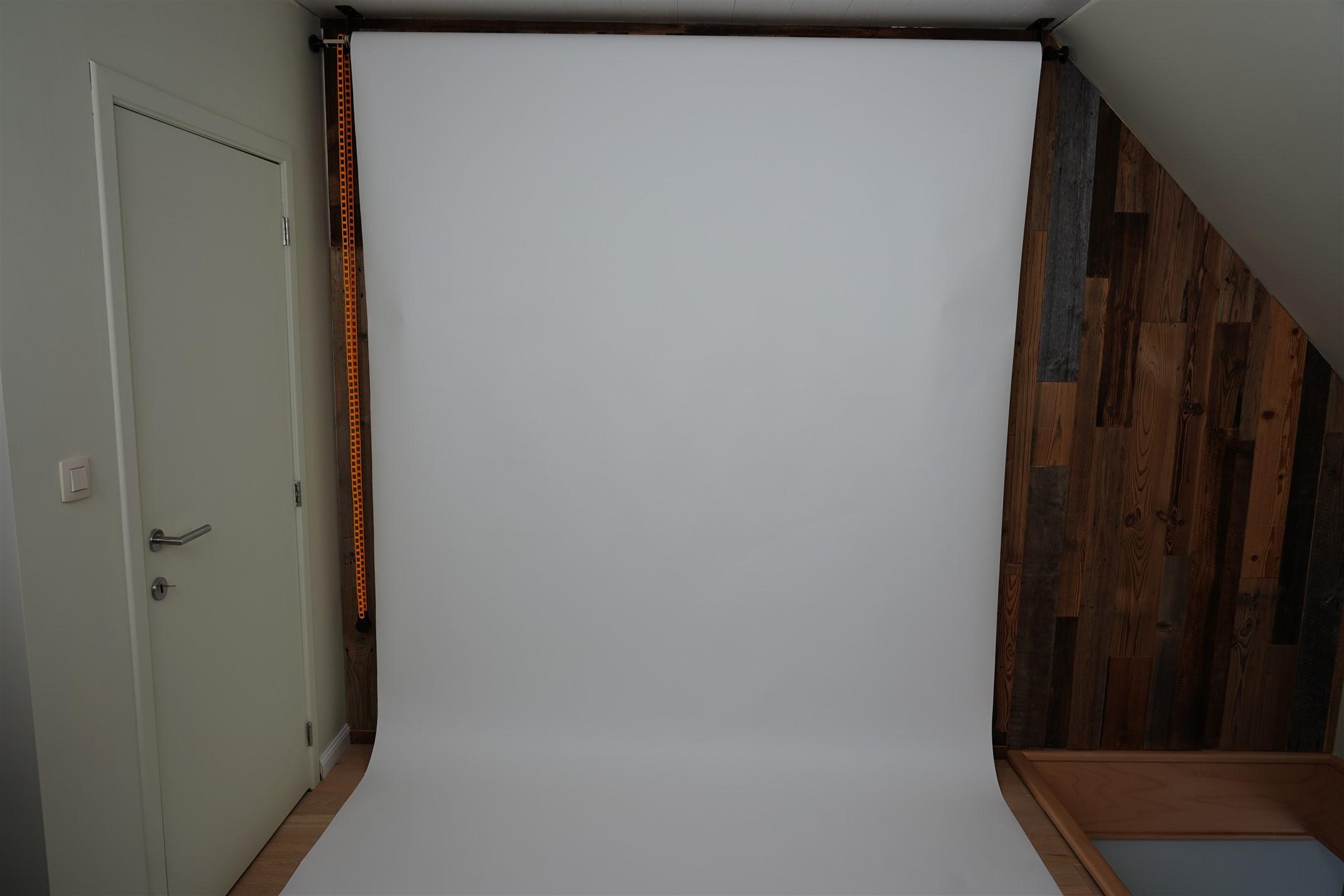 fotostudio wit doek